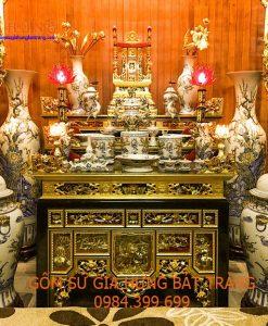 Đồ thờ gốm sứ Bát Tràng