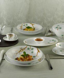 Bộ đồ ăn gốm Bát Tràng