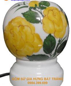 đèn xông tinh dầu gốm bát tràng, đèn xông tinh dầu bát tràng, đèn gốm bát tràng