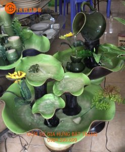 Bát hoa thác nước phong thủy
