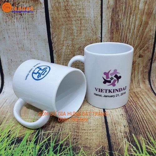 cốc sứ in logo, cốc gốm sứ, cốc sứ bát tràng, quà tặng gốm sứ, làm quà tặng gốm sứ, ly sứ bát tràng, ly sứ in logo