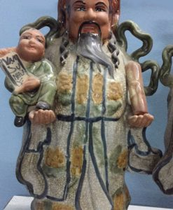 tượng tam đa bằng sứ, tượng tam đa bát tràng, tượng 3 ông phúc lộc thọ, tượng phúc lộc thọ, tượng sứ phúc lộc thọ