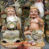 tượng thần tài, tượng thổ địa, thần tài thổ địa, tượng gốm bát tràng, tượng gốm sứ, tượng thờ