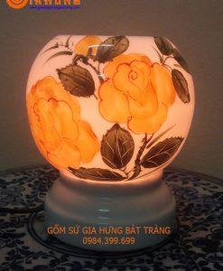 den xong tinh dau, đèn xông tinh dầu gốm bát tràng, đèn xông tinh dầu bát tràng, đèn gốm bát tràng