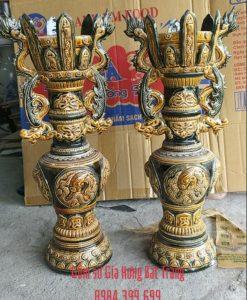 đèn dầu thờ, đèn dầu giả cổ, cây đèn dầu, chân đèn dầu, đèn dầu khắc nổi, đèn thờ bát tràng, đèn dầu thờ gốm, đèn thờ men rạn