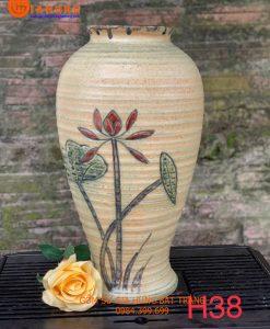 bình cắm hoa, lọ hoa, bình gốm